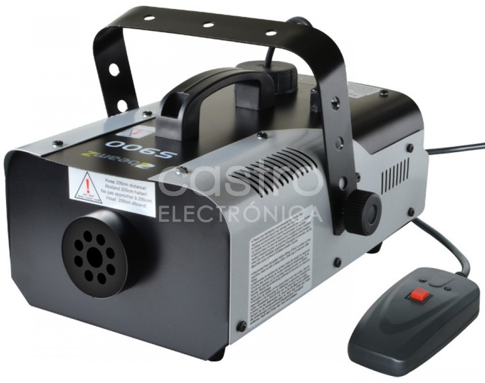 Máquina de Fumos 900W c/ Controlador (S900) - beamZ