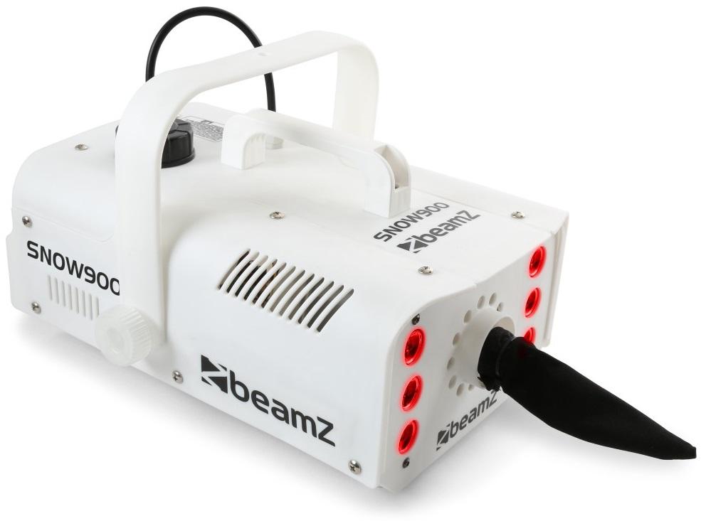 Máquina de Neve 900W c/ Efeito 6x LEDs RGB (SNOW900LED) - beamZ