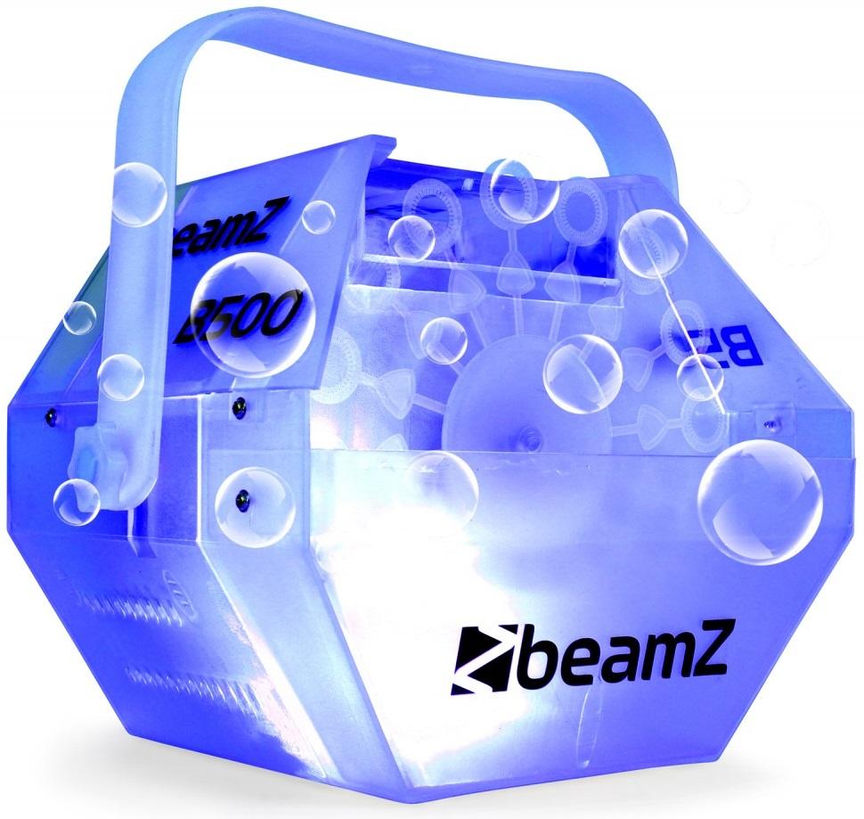 Máquina de Bolhas c/ Efeito LEDs RGB (B500LED) - beamZ
