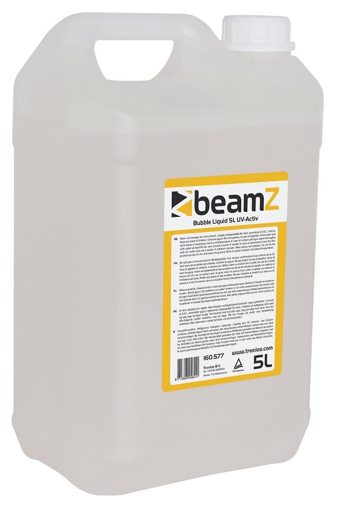 Liquido Efeito UV (Ultravioleta) p/ Máquinas de Bolhas (5 Litros) - beamZ