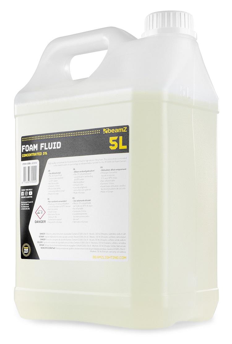 Liquido de Espuma 5L 3% p/ Máquina Canhão de Espuma de Jacto (FFL5) - beamZ