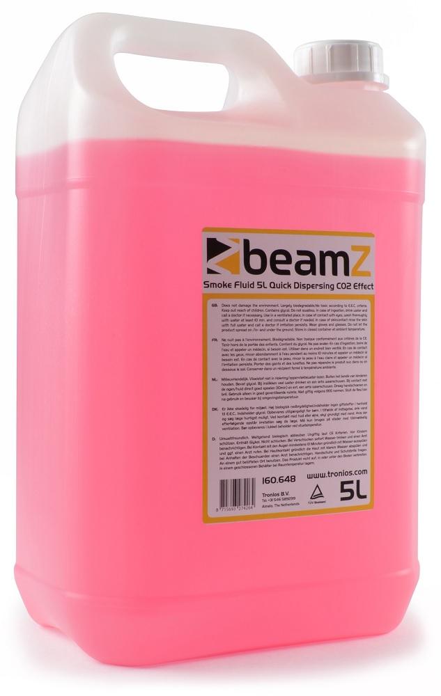 Liquido p/ Máquinas de Fumo Dispersão Rápida Efeito CO2 (5L) - beamZ