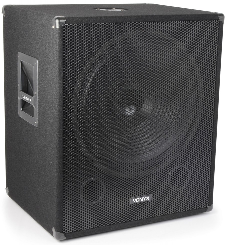 Subwoofer Bi-Amplificado 18 1000W BLUETOOTH/USB/SD/MMC/MP3 (SMWBA18MP3) - VONYX