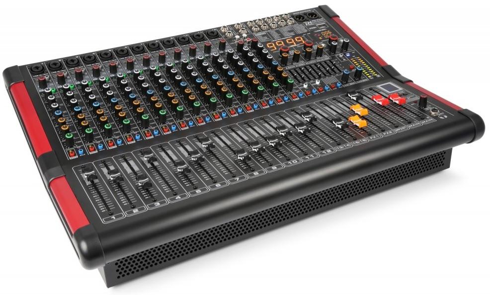 Mesa de Mistura Amplificada 16 Canais 700W c/ USB/MP3/BLUETOOTH (PDM-S1604A) - Power Dynamics