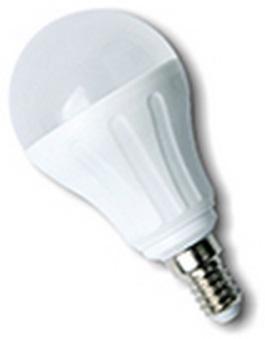 Lampada LED E14 A60 220V 7W Branco F. 6000K 595Lm