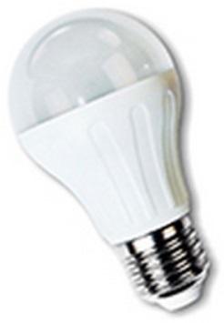 Lampada LED E27 A60 220V 10W Branco Q. 3000K 800Lm