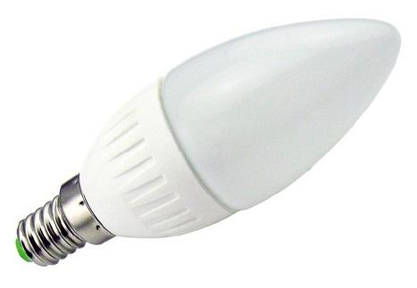 Lampada LED Opalina 220V E14 3W Branco Q. 3000K 240Lm