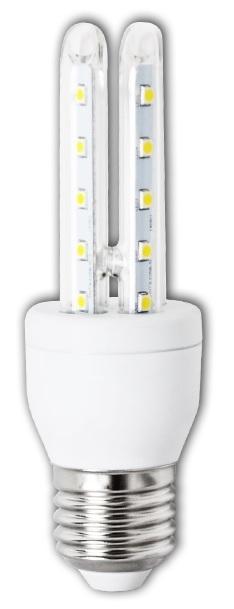 Lampada LED 220V E27 8W Branco F. 6000K 360º 640Lm