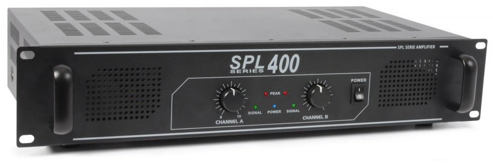 Amplificador PA 2x 200W 19 (SPL 400) - SPL