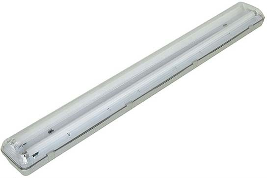 Armadura Estanque p/ 2x Lampadas Tubulares LED T8 1,50 mts - ProFTC