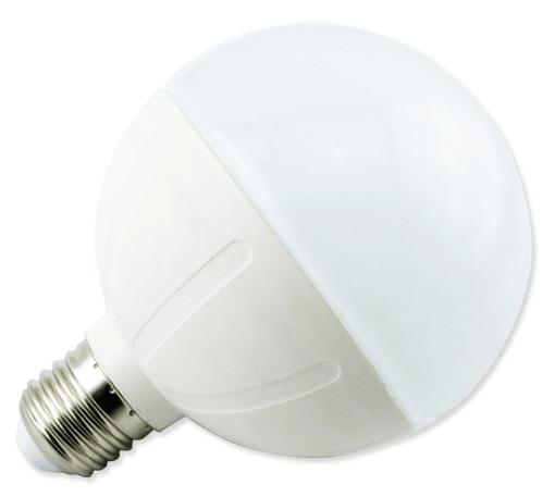 Lampada LED E27 C5 G95 220V 15W Branco Q. 3000K 1200Lm