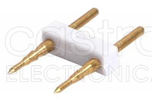 União p/ Fitas de LED 220V (2 Pinos) do tipo SMD5050