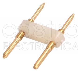 União p/ Fitas de LED 220V (2 Pinos) do tipo SMD2835