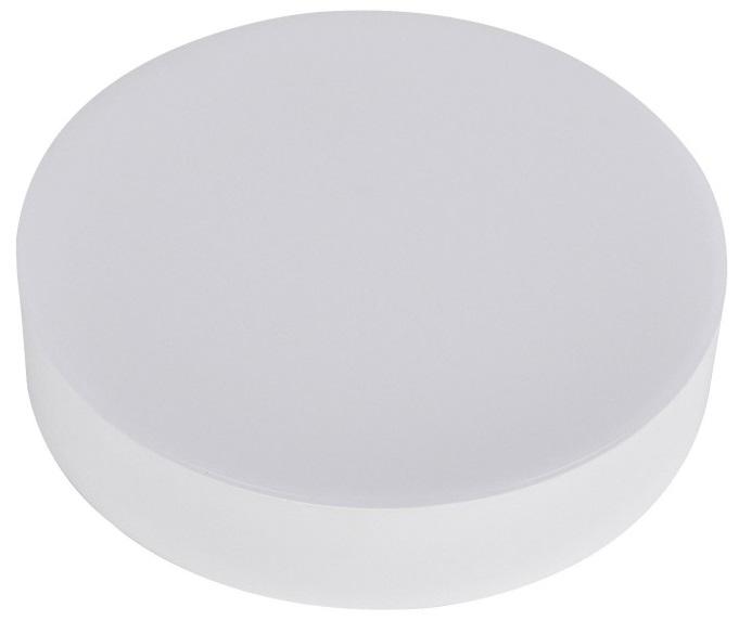 Painel de LED Superficie Redondo s/ Aro (Ø 12cm) 12W 4000K 1000Lm