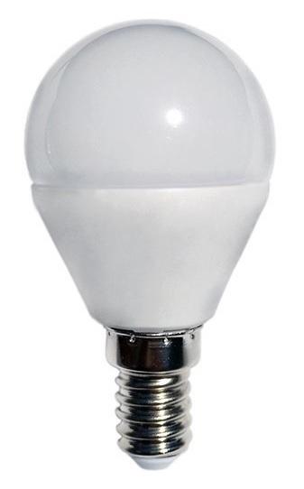 Lampada LED Opalina 220V E14 9W Branco F. 6000K 720Lm
