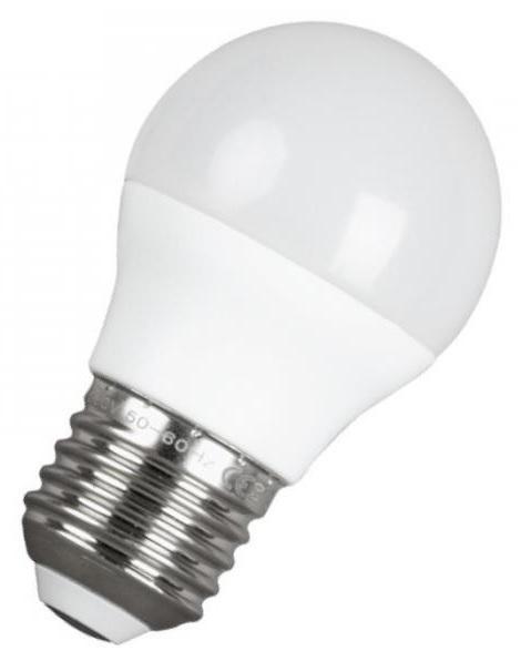 Lampada LED Opalina 220V E27 9W Branco F. 6000K 720Lm