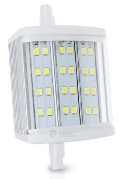 Lampada LED SMD R7s 78mm 220V 4W 6000K 120º 360Lm - GSC