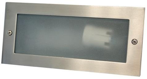 Projector Muro Aluminio E27 IP54 p/ Encastrar - ProFTC