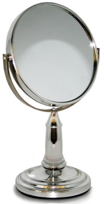 Espelho de Maquilhagem Duplo 3X (11cm) - ProFTC