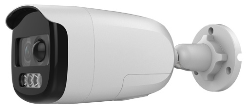 Camara Vigilancia Dome 4 em 1 (HDTVI/HDCVI/AHD/Analógica) 2MP 1080p c/ Sirene + Flash + PIR