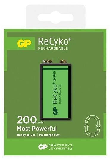 Pilha Recarregavel 9V 200mAh - GP