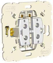 Botão de Pressão Duplo 10A 250V Série MEC21 - EFAPEL