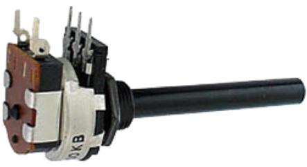 Potenciometro 22K Logaritmico c/ Interruptor