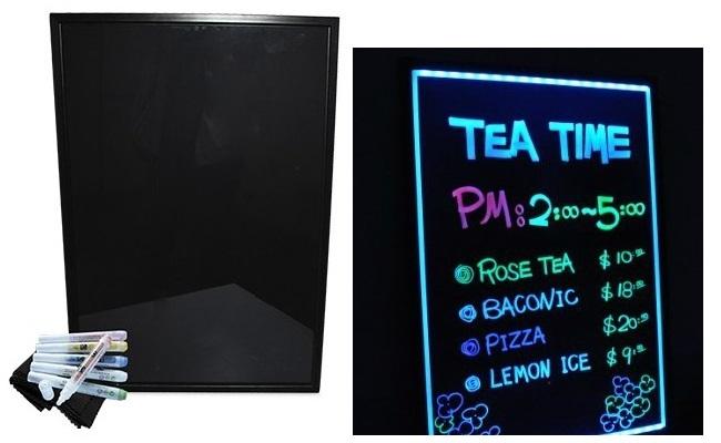 Quadro LED Luminescente Publicitário 8W (700x500mm)