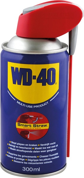 Spray Multiusos Dupla Acção (300ml) - WD-40