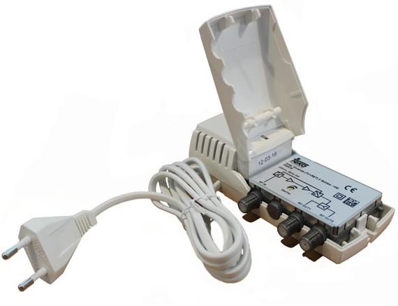 Amplificador de Vivenda (TV + Ret) 2 Saídas 20dB - TEKA