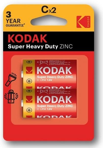 Blister 2 Pilhas R14 / C - KODAK