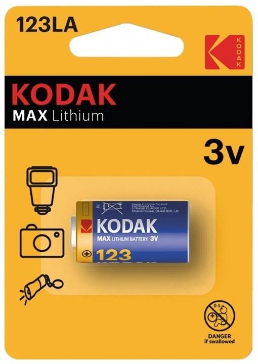 Pilha Lithium CR123 3V - KODAK