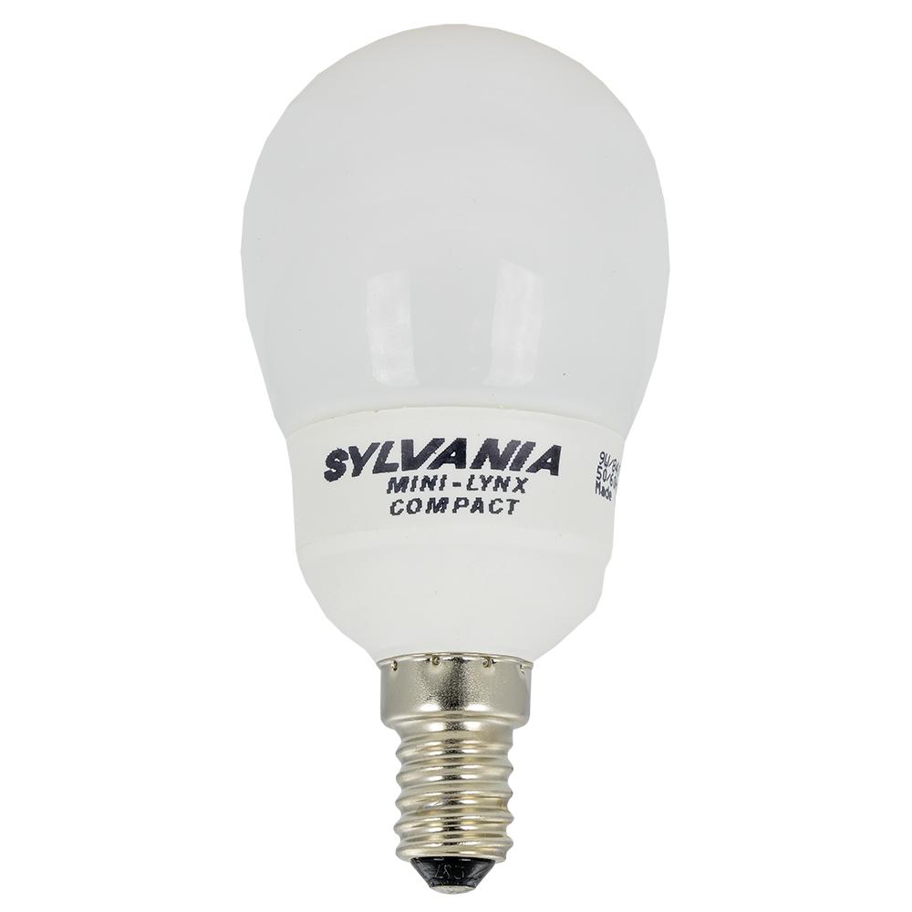 Lampada Economizadora E14 Esférica 220V 9W/840 - SYLVANIA