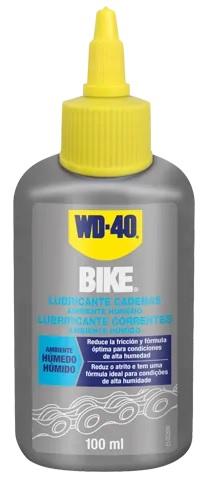 Lubrificante p/ Correntes Bicicleta 100ml (Ambientes Húmidos) - WD-40