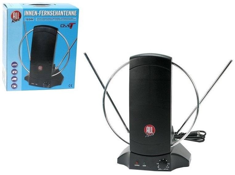 Antena Interior Amplificada UHF-VHF-TDT (12/24V) - ALL Ride
