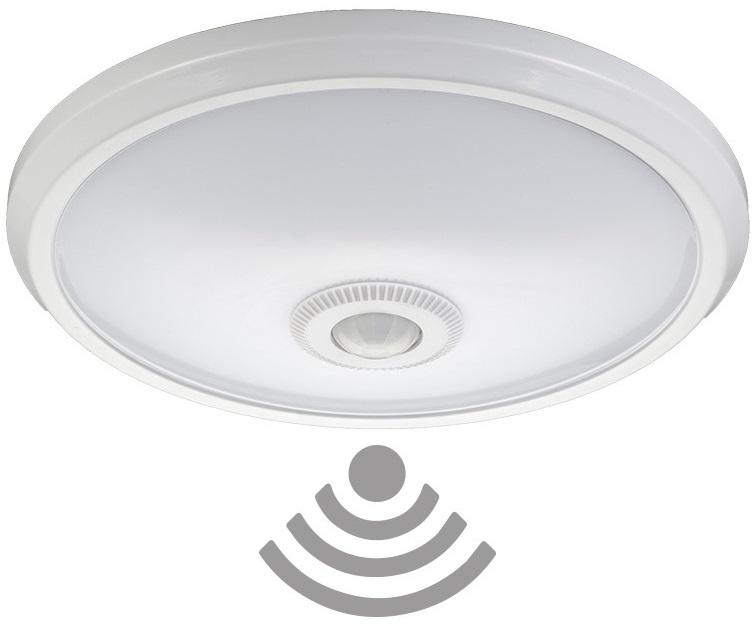 Candeeiro Plafon em LED 20W Branco 4000K 1600Lm c/ Sensor Movimento 360º