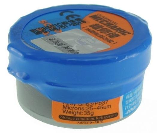 Solda em Pasta Sn63/Pb37 (35g) - ProFTC