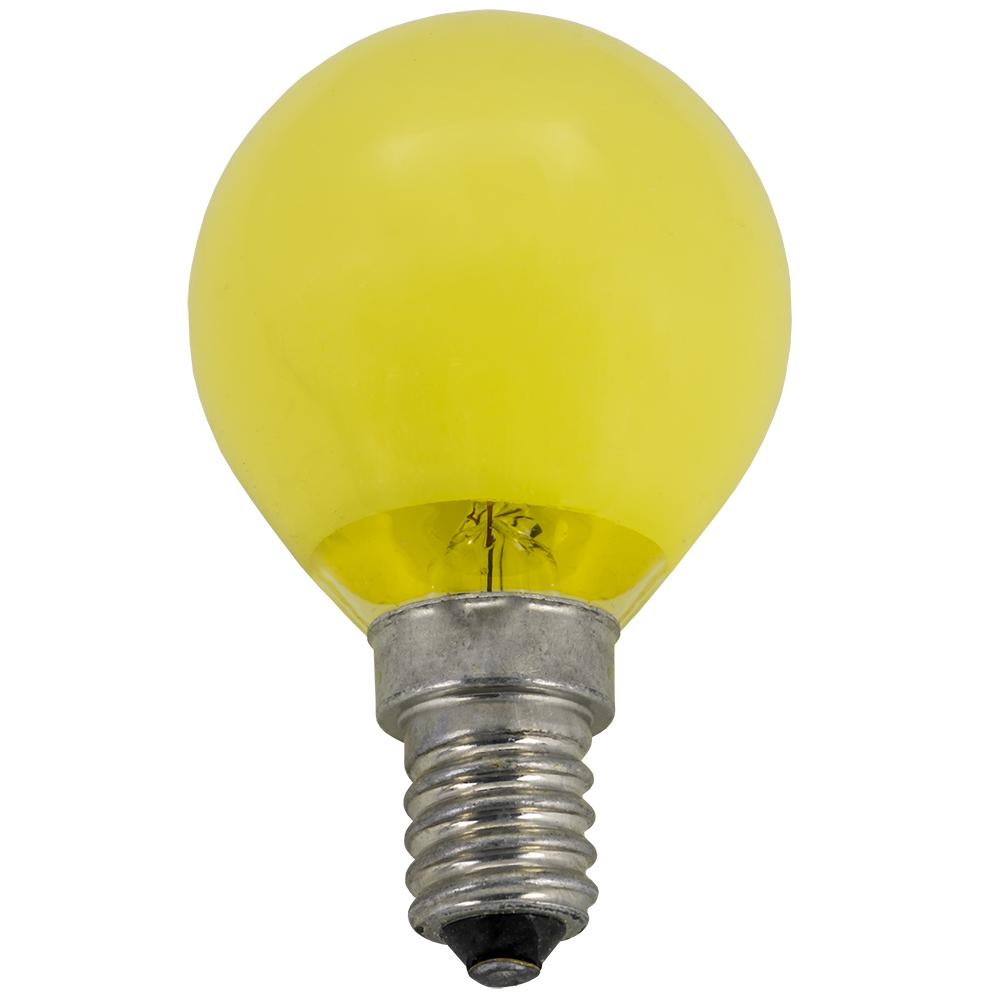 Lampada Gôta Amarela E14 25W - EDM