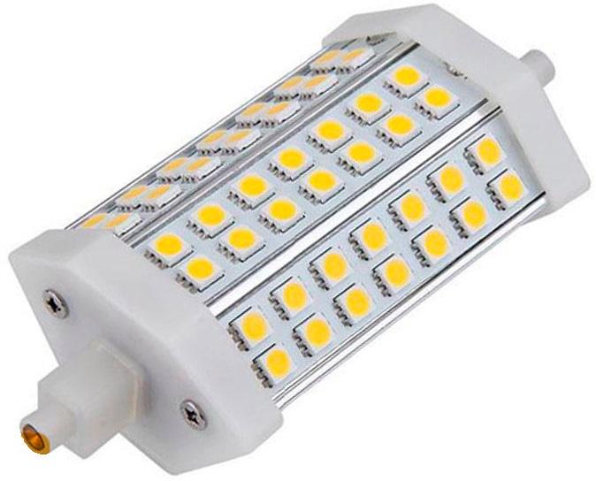 Lampada 32 LEDs SMD R7s 118mm 220V 7W 3000K 520Lm - EDM