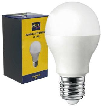 Lampada 60 LEDs E27 220V 3W Verde 300Lm