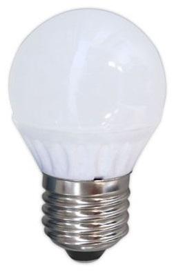 Lampada LED Opalina 220V E27 5W Branco F. 6000K 425Lm