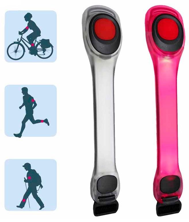 Luz/Lanterna de Sinalização para Braço/Perna/Bicicleta (2 Posições de Luz) - EDM