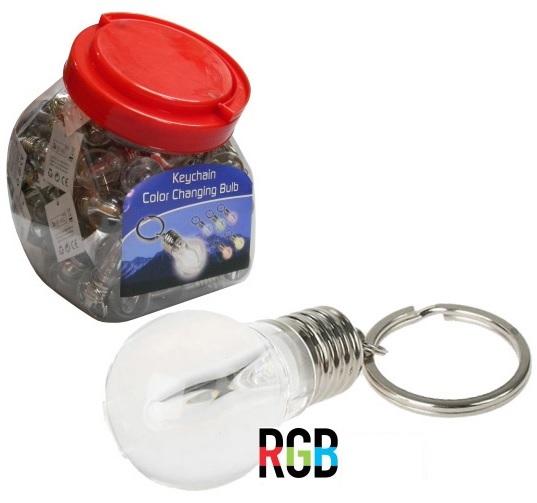 Lanterna Luz Presença 1 LED Porta-Chaves c/ Interruptor (Pilhas Incluidas) - ProFTC