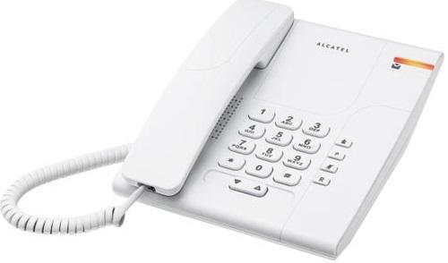 Telefone c/ Fios Pro Temporis 180 (Branco) - ALCATEL
