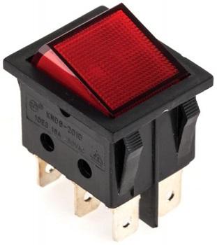 Interruptor ON-OFF Vermelho