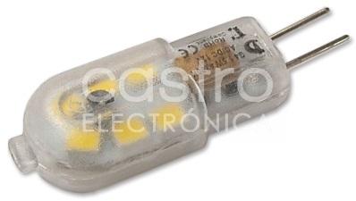 Lampada LED 220V G4 3W Branco Q. 3000K 300Lm