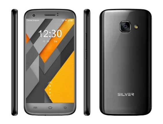 Smartphone 5 1GB/8GB 8MP Dual SIM 3G Preto (P5) - SILVER