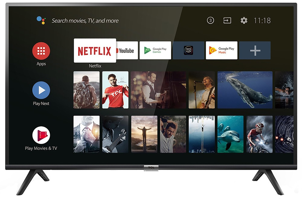 Smart TV 40 Full HD LED Android - TCL