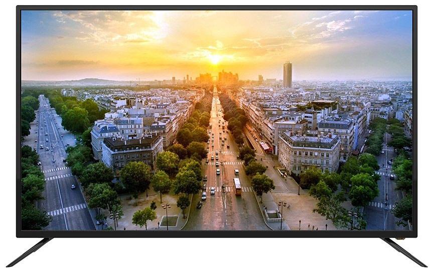TV LED 50 UltraHD 4K SMART TV ANDROID 7.1 (1/8GB) c/ Sintonizador TDT e Cabo - SILVER