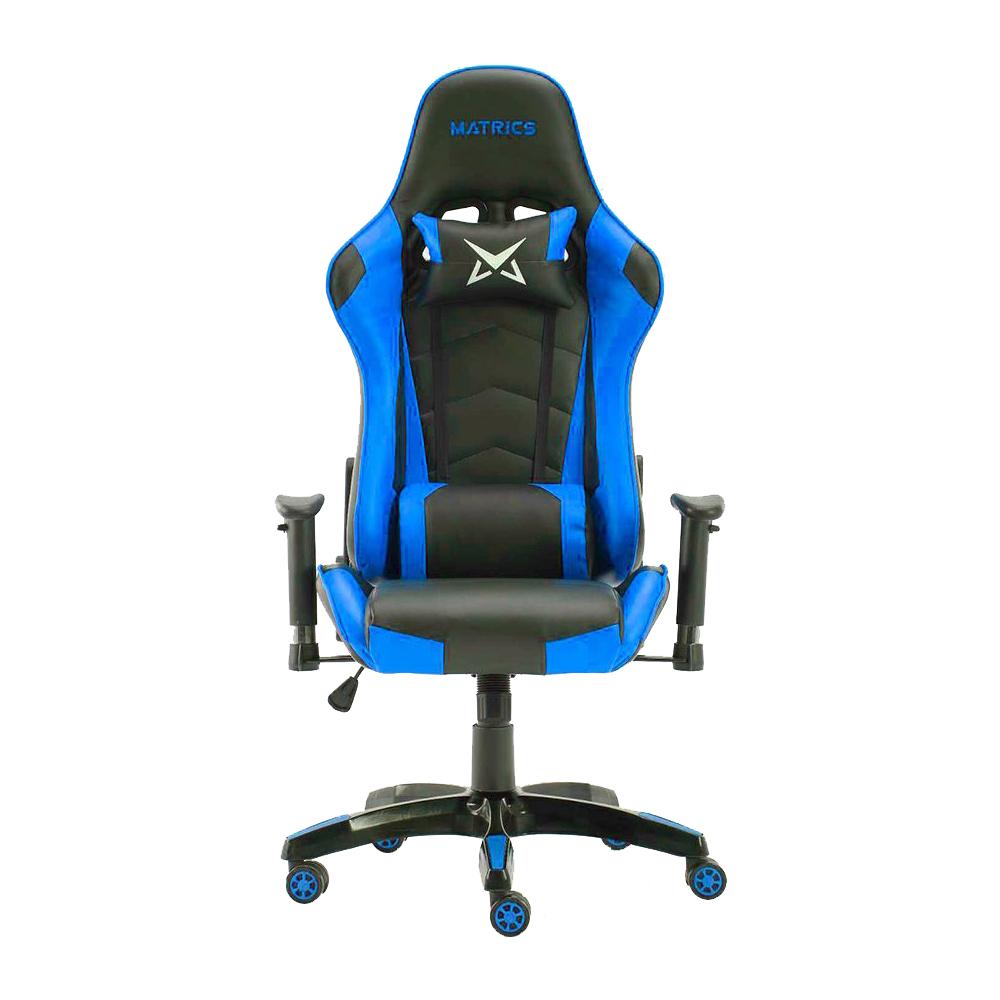 Cadeira Gaming Osiris (Preto/Azul) - MATRICS